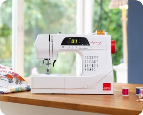 opinion ventajas maquina coser elna