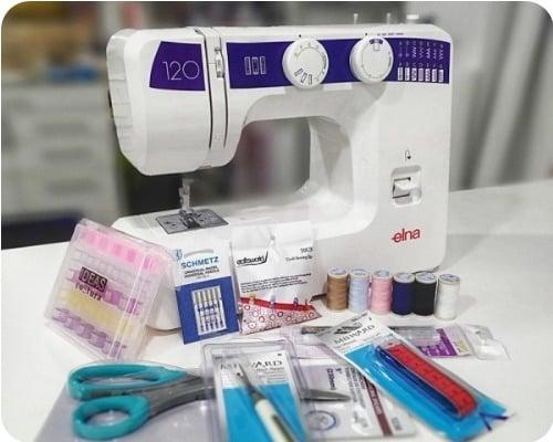 ventajas maquina coser elna 120